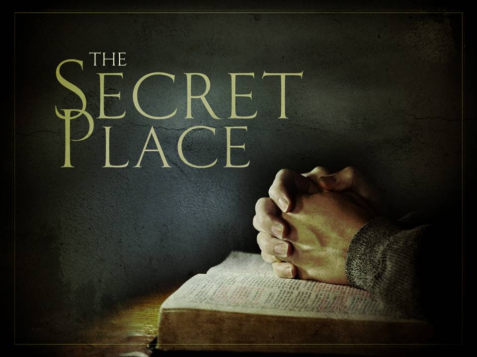 From the Archive (8/14/13): The Secret Place