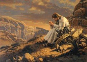 prayingjesusalone