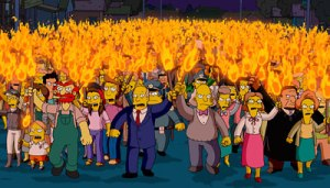 simpsons-mob-torches