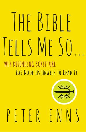 The Bible Tells Me So (book cover)